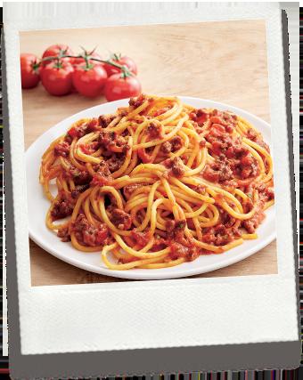 Spaghetti Bolognaise BIO