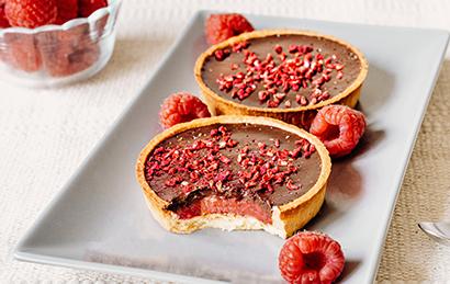 2 Tartelettes Chocolat Framboise
