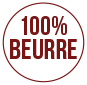 100% pur beurre
