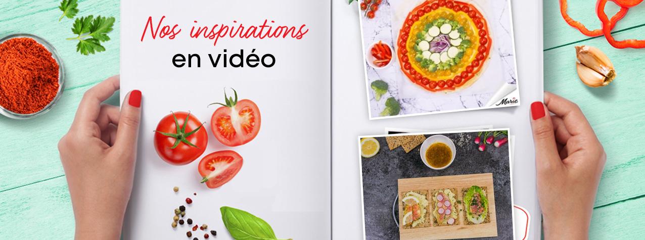 Nos inspirations en vidéo