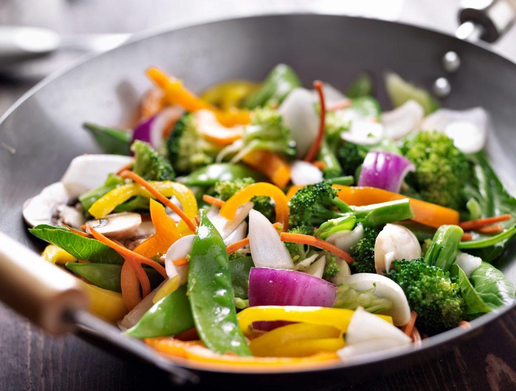 Recette Marie Wok de légumes croquants