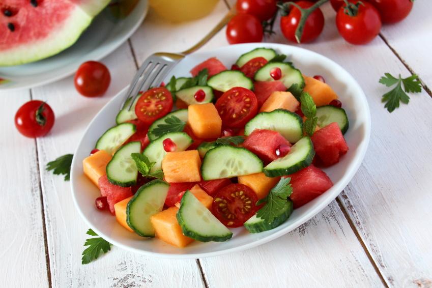 Recette Marie salade estivale
