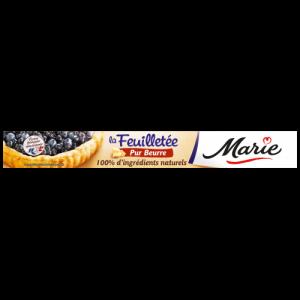 Pâte feuilletée pur beurre Marie