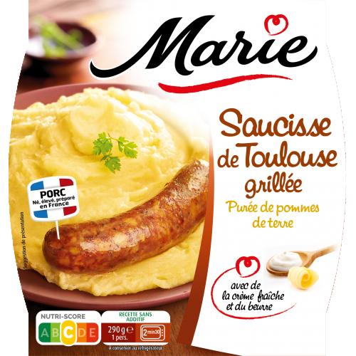 Saucisse de Toulouse grillée Marie