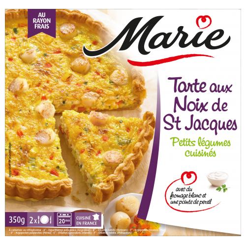 Tarte aux noix de Saint jacques Marie