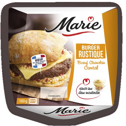 Burger rustique Marie