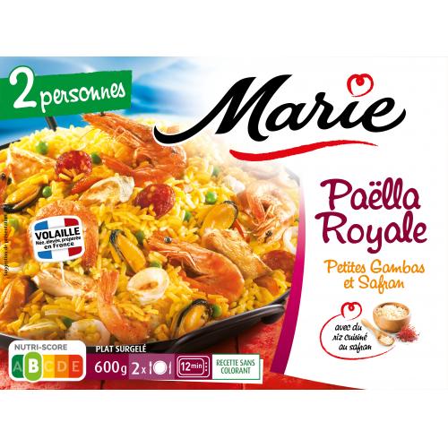 Paëlla Royale pour 2  Marie