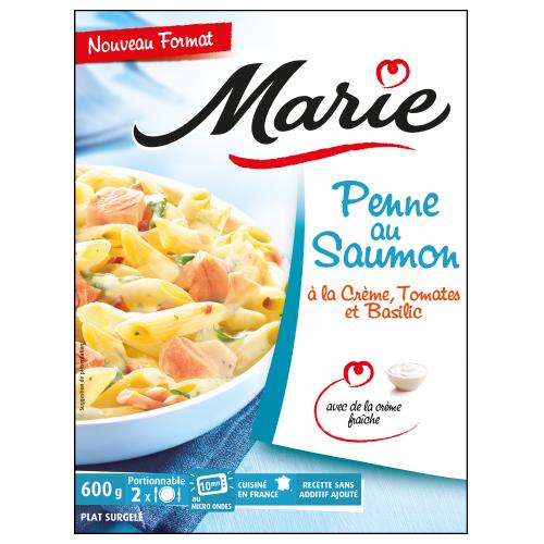Penne au saumon pour 2 Marie