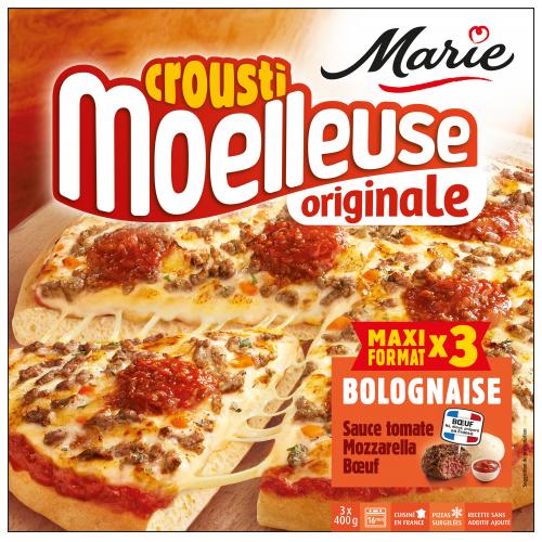 Pizza à la Bolognaise croustimoelleuse Originale