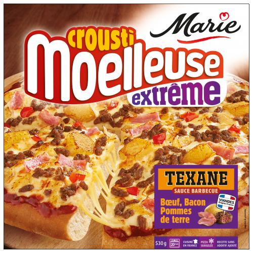 Pizza Texane  croustimoelleuse Extrême