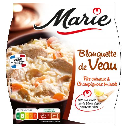 Blanquette de veau Marie