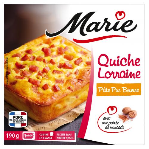 Quiche Lorraine individuelle Marie