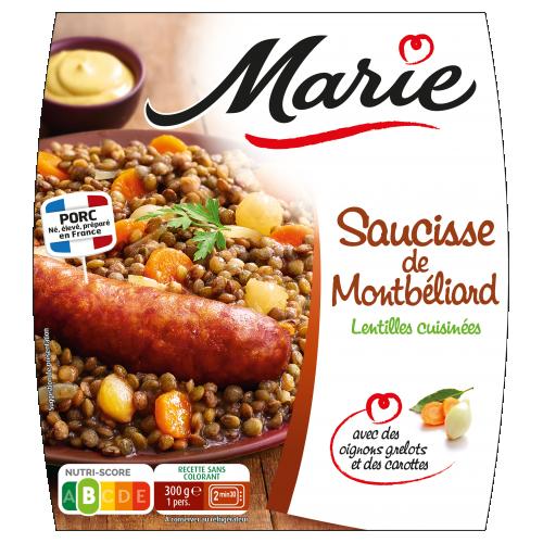 Saucisse de Montbéliard Marie