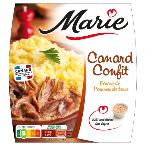 Canard confit Marie