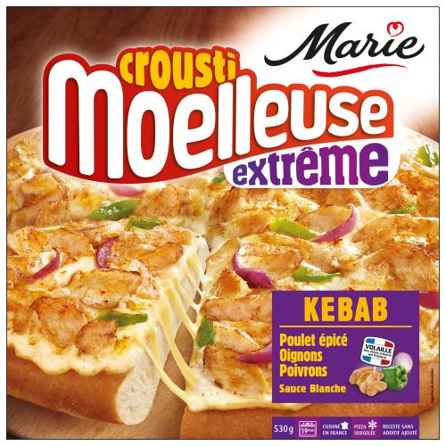 Pizza Kebab croustimoelleuse Extrême