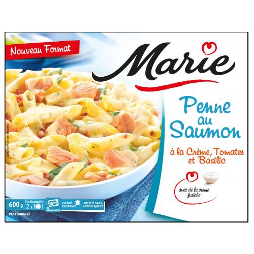 Penne au saumon Marie