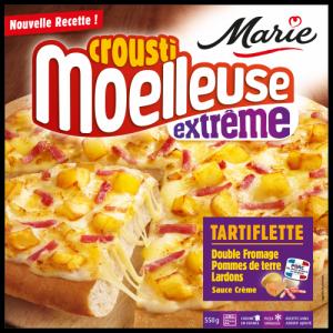 Pizza Tartiflette  croustimoelleuse Extrême