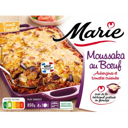 Moussaka au bœuf Marie