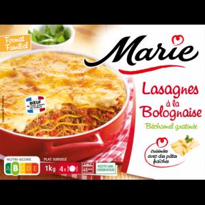 Lasagne à la bolognaise Marie