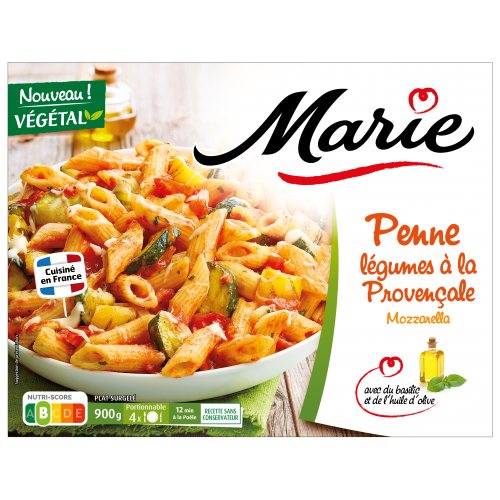 Penne légumes à la Provençale Marie