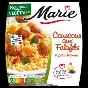 Couscous aux falafels Marie