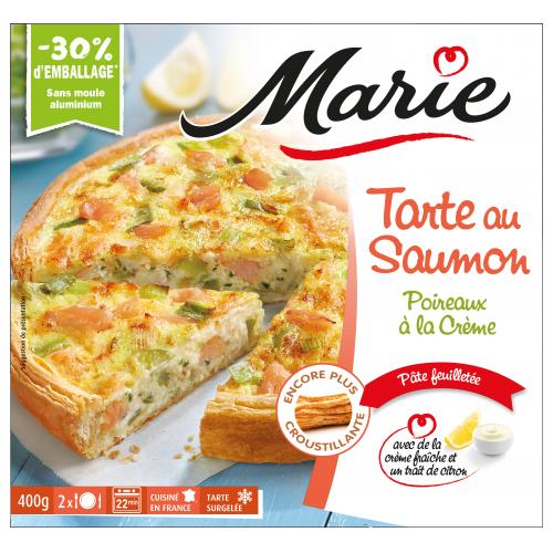 Tarte au saumon Marie