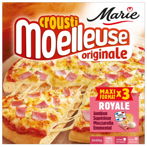 Pizza Royale croustimoelleuse Originale