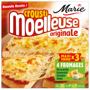 Pizza 4 fromages croustimoelleuse Originale