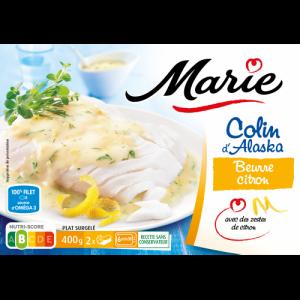 Colin beurre citron Marie