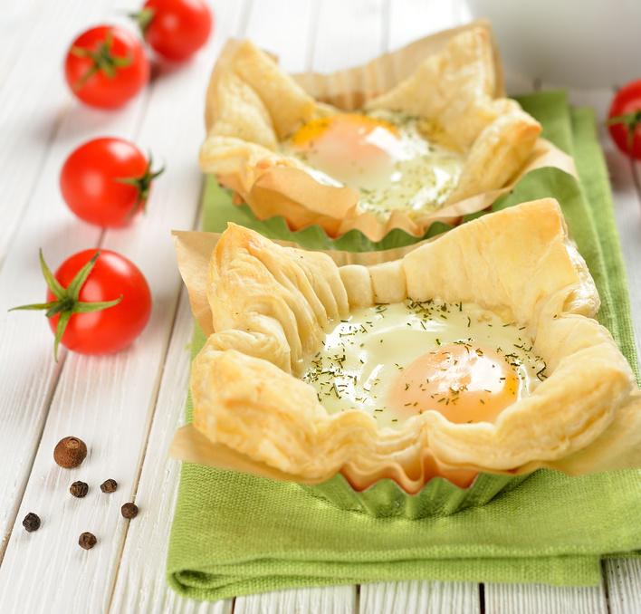Recette Marie œuf cocotte en cassolette