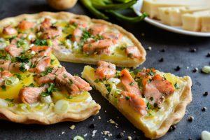 Recette tarte fine au saumon