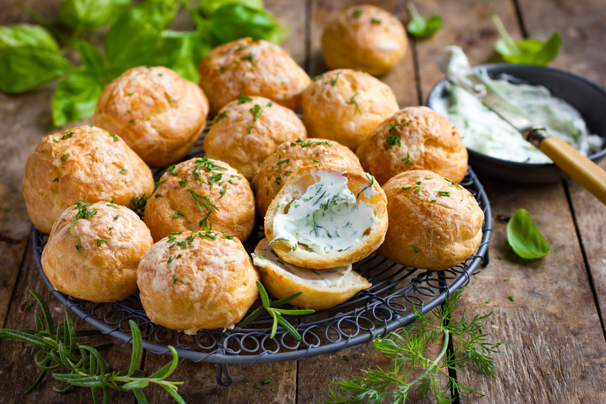 Recette Marie Gougere au fromage