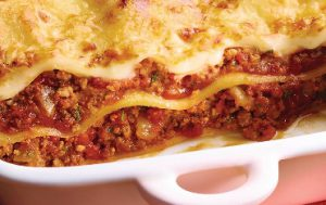 Lasagnes à la Bolognaise Marie