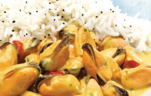 Moules au curry Marie