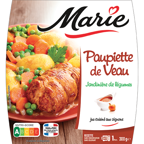 Paupiette De Veau Jardiniere De Legumes Marie