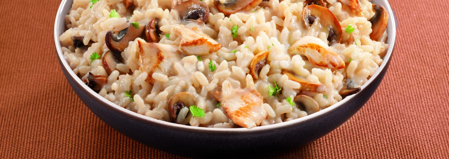 Risotto poulet Marie