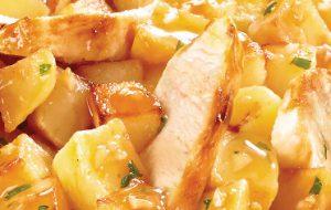 Poulet rôti pommes de terre Marie