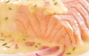 Saumon beurre blanc Marie