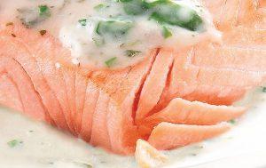 Saumon sauce oseille Marie