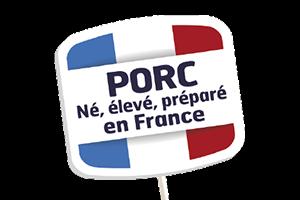 Marie Porc né élevé et préparé en France