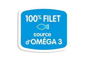 Marie Poisson 100% Filet et source d'omega 3